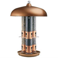 Copper Finish Triple Tube Bird Feeder PCTBF5839