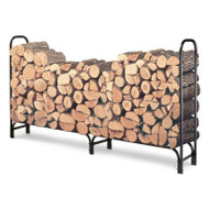 Outdoor 8ft Firewood Rack Wood Log Storage Sturdy Tubular Steel LFLR52792