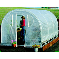 Polytunnel Hoop House Greenhouse (8' x 12') PTHSG8X12