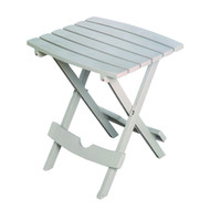 Folding Side Table for Outdoor or Patio Garden in Desert Clay Resin DCPST51651