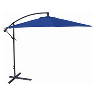 10-Ft Offset Cantilever Patio Umbrella with Royal Blue Canopy Shade JMU5148465