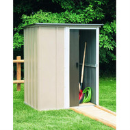 Outdoor Lawn Garden Tool Storage Shed - 4-Ft x 5-Ft ABS2319853
