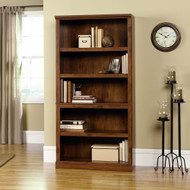 5-Shelf Bookcase in Oiled Oak Finish S5OLB13765-3