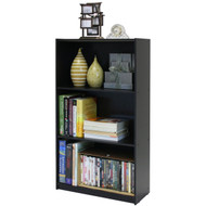 3-Tier Bookcase Storage Shelves in Espresso Finish F3TSSB3567-4