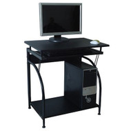 Computer Desk with Pullout Keyboard Tray and Bottom Shelf CPSCD5901