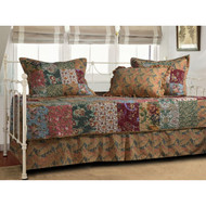 Floral 5-Piece Daybed Ensemble Bedding Set GHA5PDS59