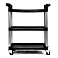 3-Tier Printer Stand Utility Cart with Locking Casters T3TPS792535