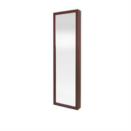 Wall / Door Mount Jewelry Armoire / Full Length Mirror in Cherry Finish DM01297521-4