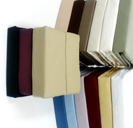 "16"" Deep Pocket- 300 Thread Count Solid Egyptian Cotton Luxury Bed Sheet Sets"