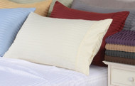 "16"" Deep Pocket -5 SIZES-600 Thread Count Striped Egyptian Cotton Bed Sheet Sets-1488-"