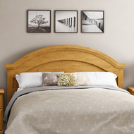 Full/Queen size Arch Top Country Style Headboard in Pine Finish FQPHP139