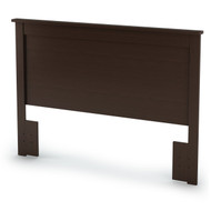 Full/Queen size Headboard in Chocolate Finish - Eco-Friendly FQVC8901