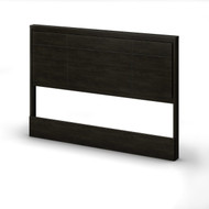 Queen size Contemporary Headboard in Ebony Wood Finish SGQHE1149