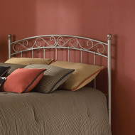 Full size Arched Metal Headboard in New Brown Finish EFH11988
