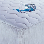 Queen size 100-Percent Cotton Waterproof Mattress Pad - Hypoallergenic SCMPQ5253