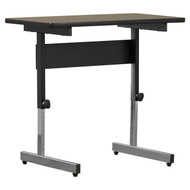Stand Up Desk Adjustable Height Sitting or Standing Writing Tablet Computer Laptop Table SUSD541988511