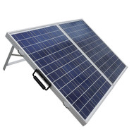 100 Watt Portable Folding Solar Panel 12V Battery Charger with Charge Controller EWSB15958151