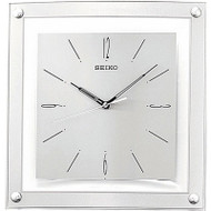 Contemporary 12.25-inch Square Quiet Analog Wall Clock SQWC15183