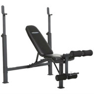 Steel Frame Weight Bench with Adjustable Height Bar Chest Press Military Incline Decline CBCKH519841
