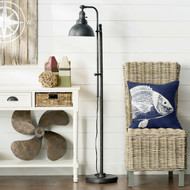 65-inch Tall Floor Lamp Task Light in Distressed Metal Finish MTFL6518542