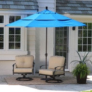 11-Ft Tilting Patio Umbrella with Pacific Blue Canopy Shade UMBP5168435