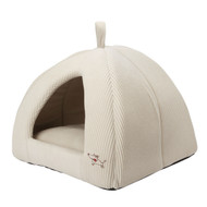 Beige Medium Size Dog Bed Dome Tent - Machine Washable MPTD5075