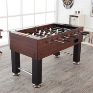 Game Time 55-inch Foosball Table with 4 Soccer Balls FCPT51987571