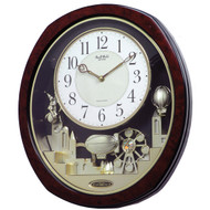 Melodies Wall Clock - Plays Hymns and Christmas Songs JOLWCR19685421