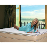 Full size 10-inch High Profile Plush Pillow Top Innerspring Mattress FULMB89451531