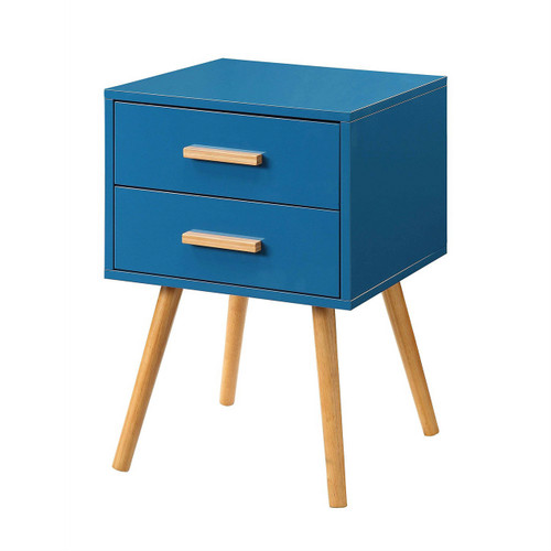 Small Mid Century Modern End Tables: Modern Classic Mid-Century Style End Table Nightstand In