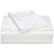 Full size 400-Thread Count Egyptian Cotton Sheet Set in White P4CES3991