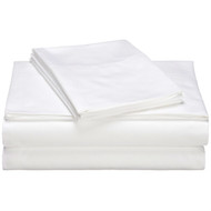 CA King 400 TC Cotton Sheet Set in White PHCSW4838
