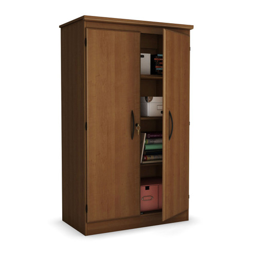 2 door cabinet wardrobe armoire for bedroom lr office in. Black Bedroom Furniture Sets. Home Design Ideas