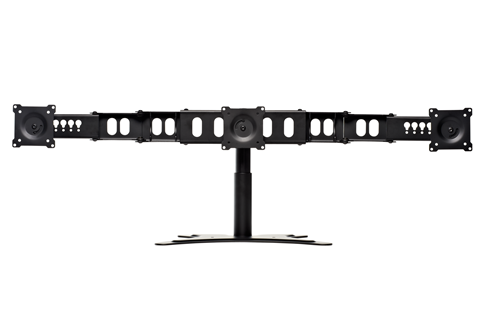 "Triple Monitor Flex Stand, accommodates up to (3) 22"" Monitors DS-322STA"