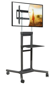 "Mobile TV Cart, 32"" - 70"", 132 lbs. Capacity DS-5070CT"