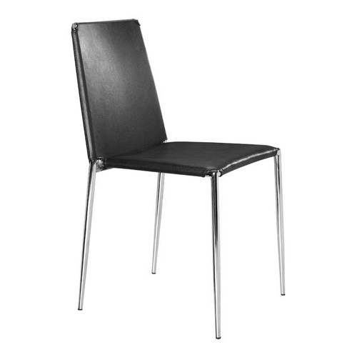 Alex Dining Chair Black (Set Of 4) -101105-1