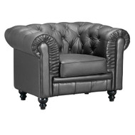 Aristocrat Arm Chair Black -900100-1