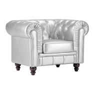 Aristocrat Arm Chair Silver -900102-1
