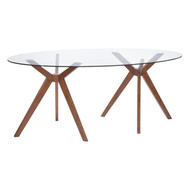 Buena Vista Dining Table Walnut -100090-1