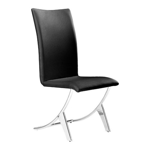 Delfin Dining Chair Black (Set Of 2) -102101-1