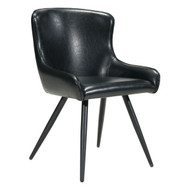 Dresden Dining Chair Black (Set Of 2) -100757-1