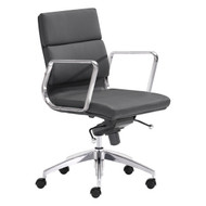 Engineer Low Back Office Chair Black -205895-1