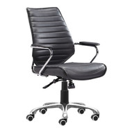 Enterprise Low Back Office Chair Black -205164-1