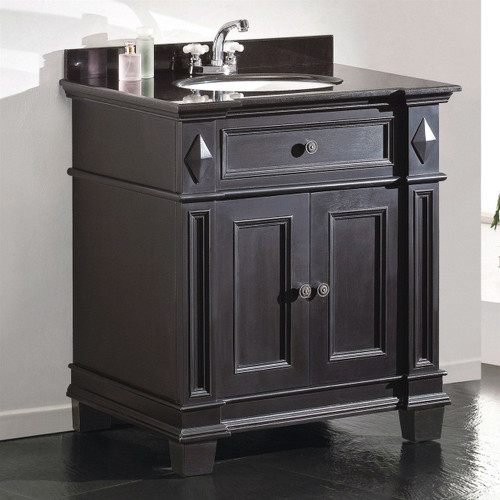 Single Sink Bathroom Vanity Cabinet amp Black Granite Top  : ODE65915 2526721451261293500750 from www.qualityhousecorp.com size 500 x 500 jpeg 162kB