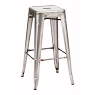 Marius Barstool Gunmetal (Set Of 2) -106110-1