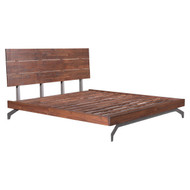 Perth King Bed Chestnut -100584-1