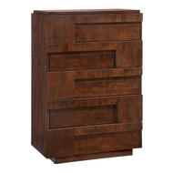 San Diego High Chest Walnut -800331-1