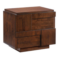 San Diego Night Stand Walnut -800330-1
