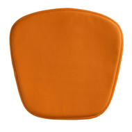 Wire/Mesh Chair Cushion Orange -188007-1