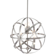 Aston Ceiling Lamp Satin Nickel -56068-1